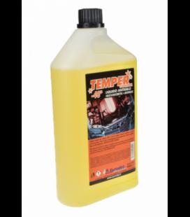 Temper 40 Color Rosso Giallo Detergente Antigelo per Radiatori