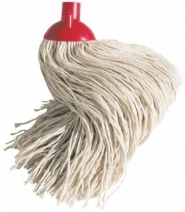 Mop cotone extra - attacco a vite - filo grosso